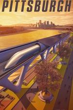Great Lakes Hyperloop – Pittsburgh by HyperloopTT