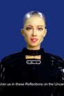 Reflections on the Uncanny by Sophia the Robot x Andrea Bonaceto