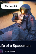 Life of a Spaceman by Mr. Kalopsia