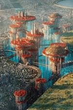 Utopia vs Dystopia: Different Visions of The Future by Annibale Siconolfi